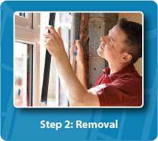Double Glazed Windows Removal